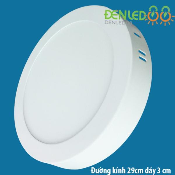 Đèn Ốp trần 24w tròn trắng