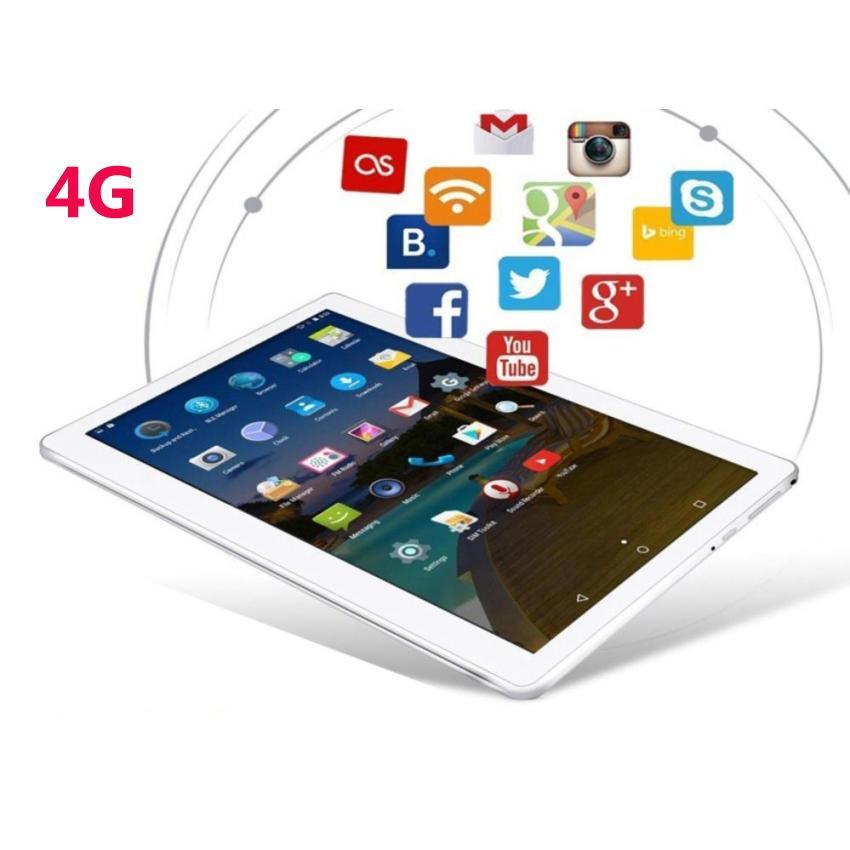 Hình ảnh Máy tính bảng 32Gb MATSUMA 10.1inch : 4G-3G-Wifi-Bluetooth-GPS (Ram 2g, Rom 32G) Trắng nắp nhôm