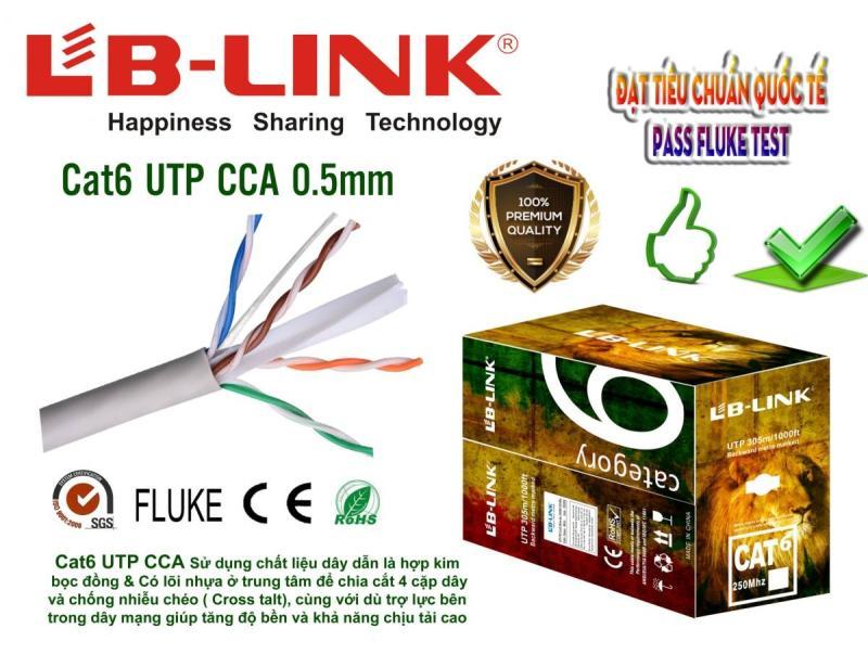 Bảng giá Cuộn dây cáp Mạng LB-LINK CÁP 6E UTP CCA 0.5mm dài 305m  Phong Vũ
