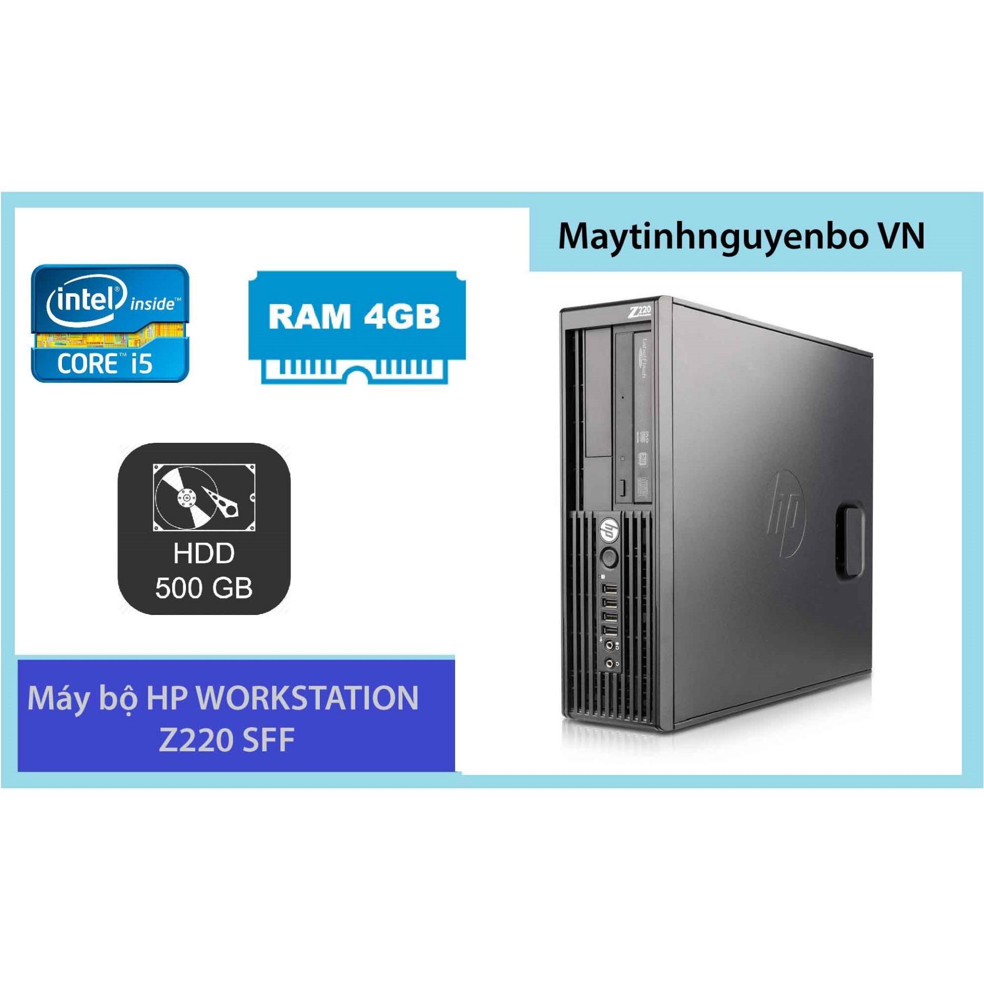 Hình ảnh Máy Tính Đồng Bộ HP WORKSTATION Z220 SFF Core I5 3470 Ram 4GB HDD 500GB