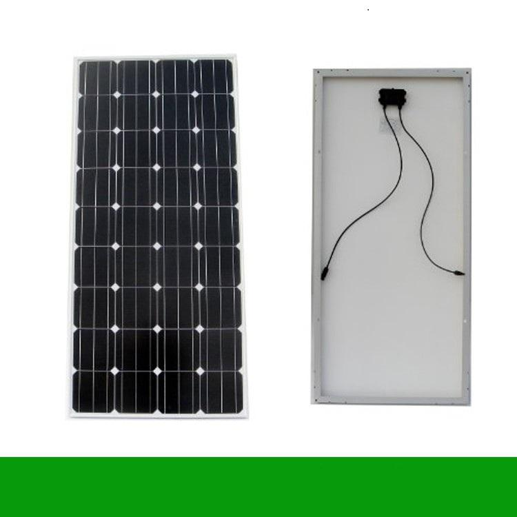 Pin năng lượng mặt trời 100w mono