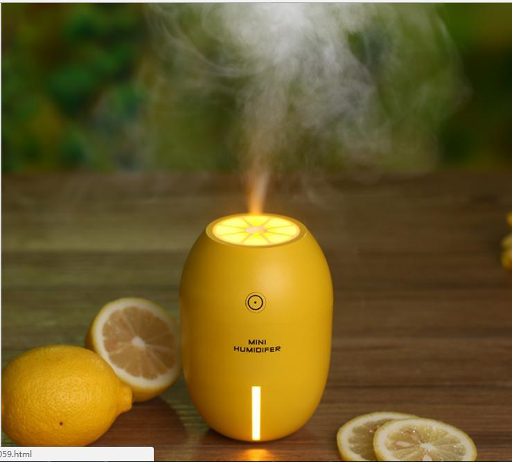 Hình ảnh Máy xông tinh dầu kiêm đèn ngủ Lemon Humidifer