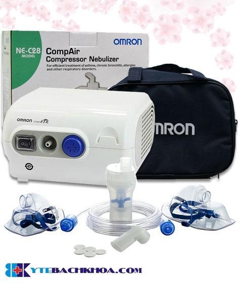 Máy xông khí dung OMRON C28 nhật bản gia đình phòng khám