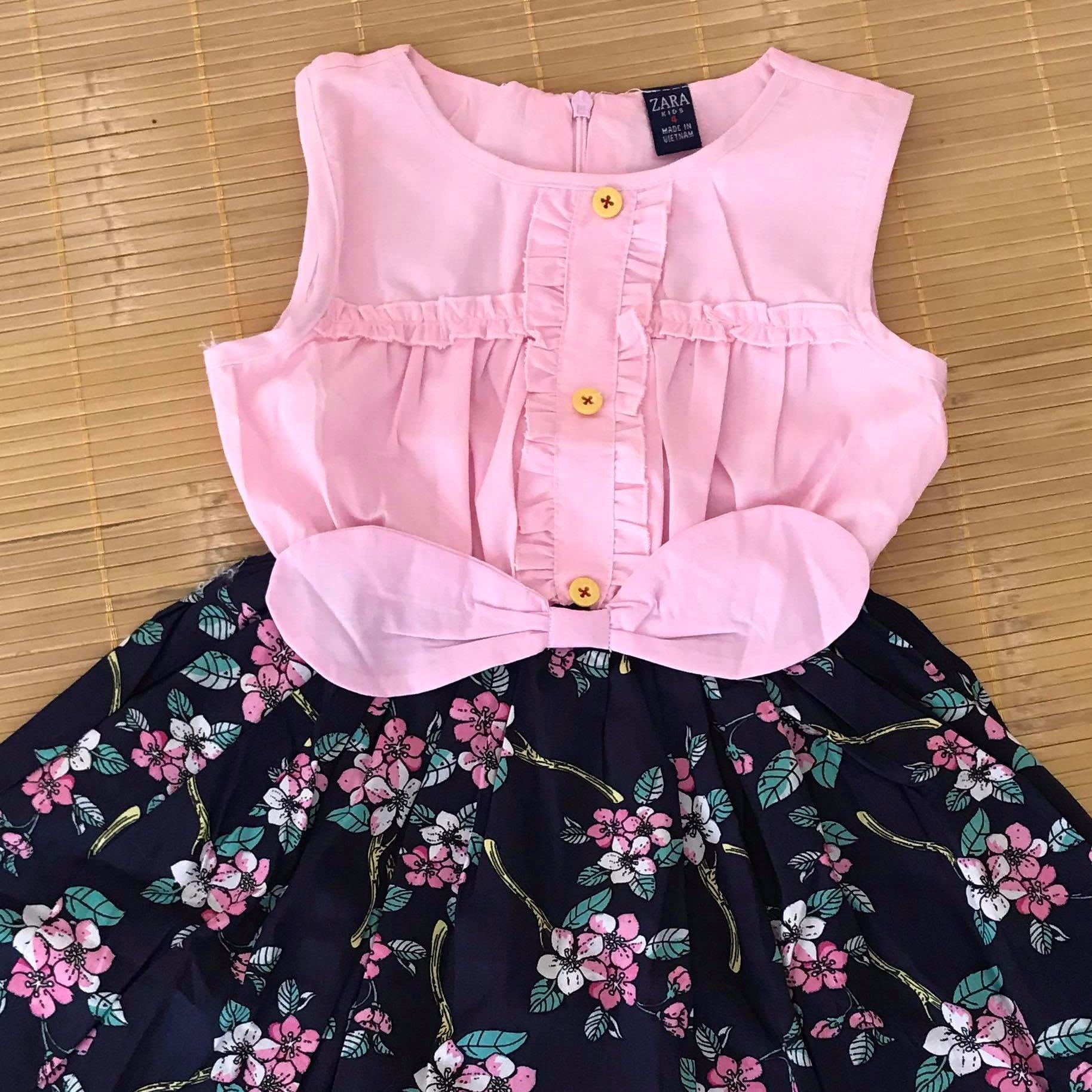 Mua Đàm Tai Thỏ Zara Kid Chan Váy Hoa Rẻ Trong Hưng Yên
