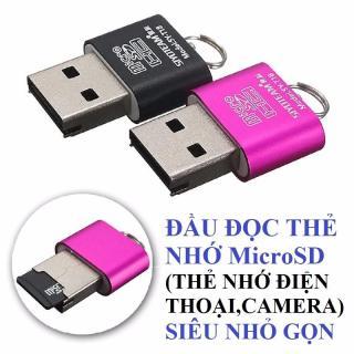 Đầu đọc thẻ nhớ microSD (thẻ nhớ điện thoại) Siêu nhỏ gọn Siyo Team T18 thumbnail