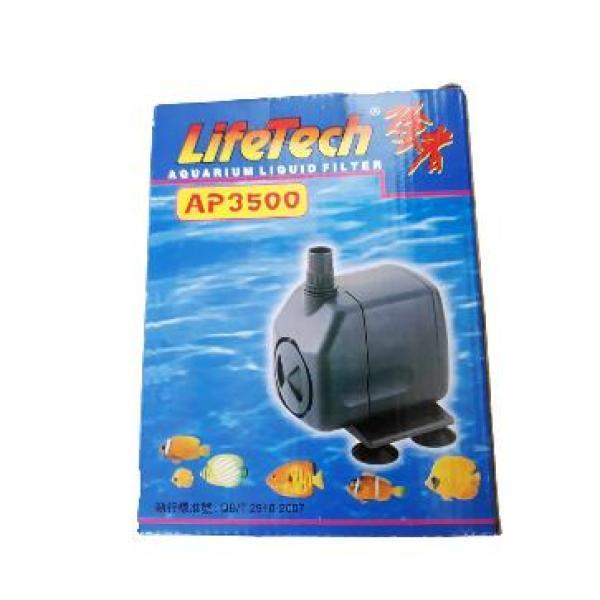 Máy bơm nước hồ cá cao cấp  AP3500 60W, lưu lượng 2500 lít/h + Đẩy cao: 2.5m+ Phi ống: 18, 21