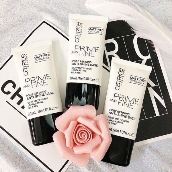 KEM LÓT kiềm dầu CATRICE Prime and Fine Pore Refining anti shine base CATRICE PRIME AND FINE tốt nhất