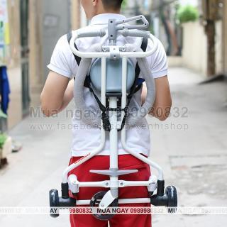 Dây đeo xe cho xe đẩy gập gọn thông minh 3 bánh và 5 bánh - (chưa bao gồm xe) thumbnail