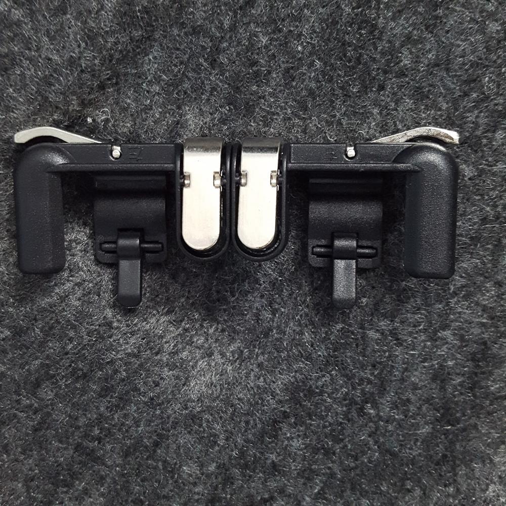 Nút Bấm Chơi Game PUBG / ROS - Chất Liệu Thép Không Gỉ Mới Dòng Nút Bấm Odog Cơ Màu Đen Khóa Sắt