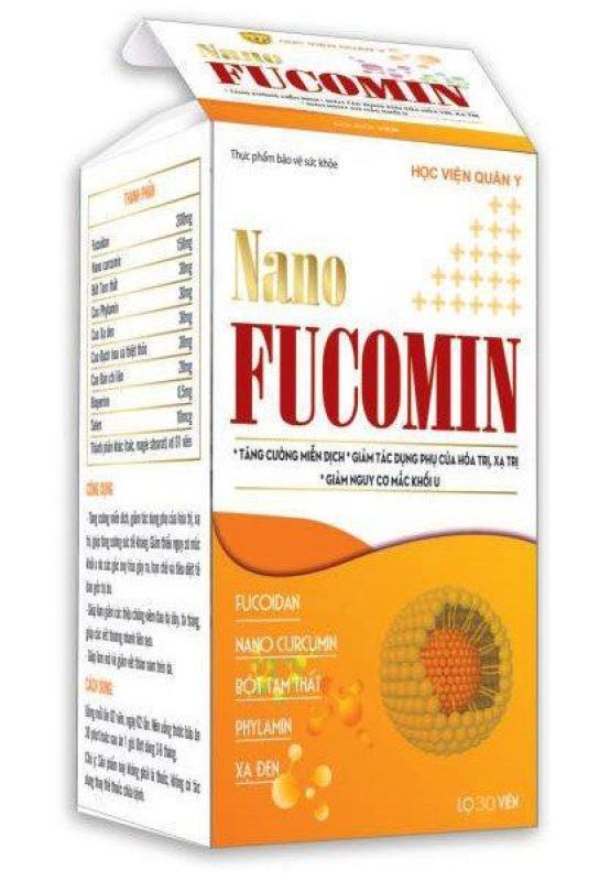 Nano Fucomin Học Viện Quân Y cao cấp