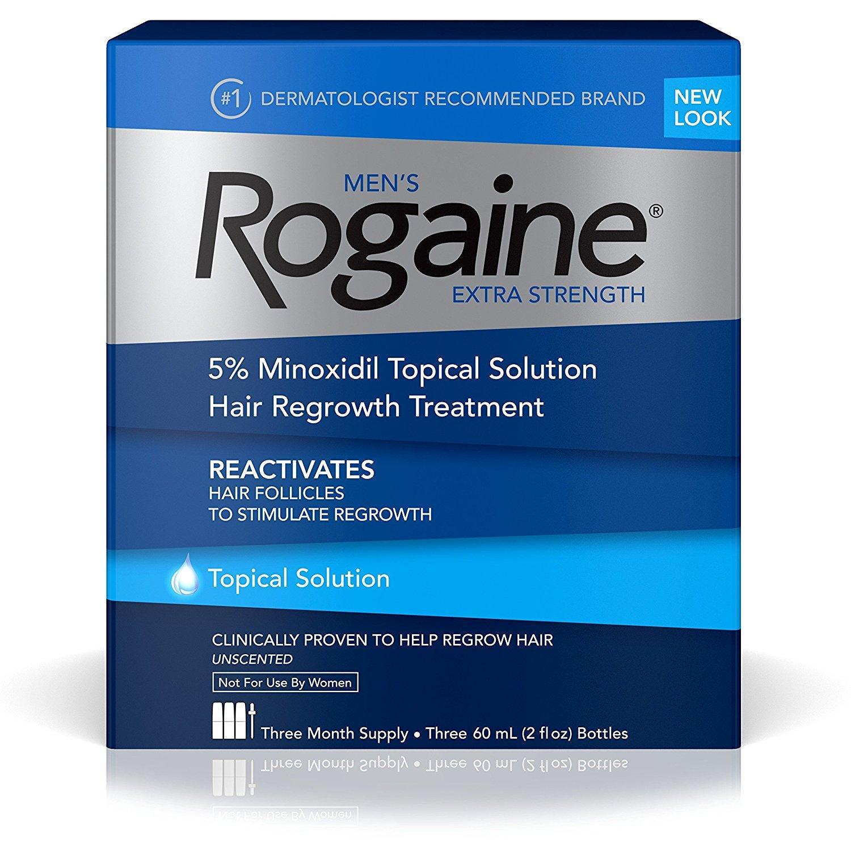 Bộ 3 chai thuốc mọc tóc dành cho nam Men's Rogaine Extra Strength 60ml x 3 chai