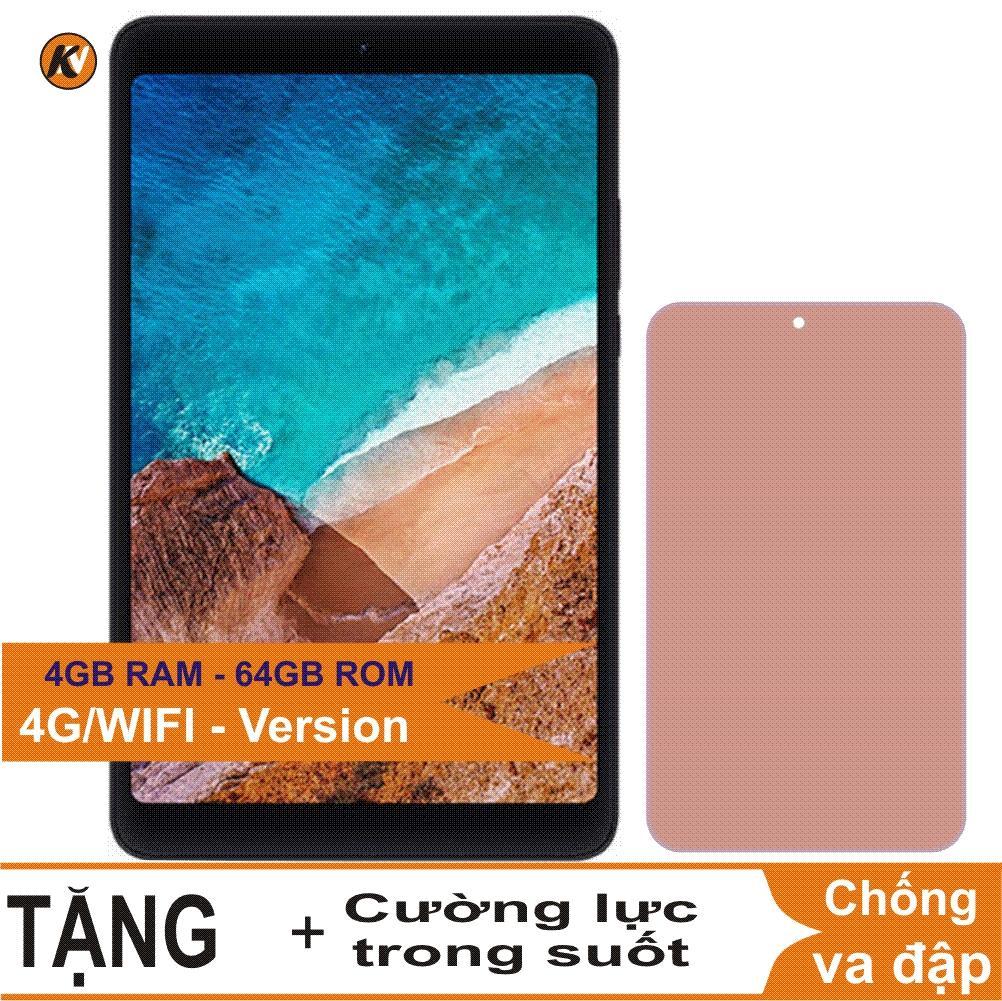 Xiaomi Mipad 4, Mi pad4, Mi pad 4 64GB Ram 4GB (Phiên bản sim 4G LTE) Khang Nhung + Cường lực - Hàng nhập khẩu