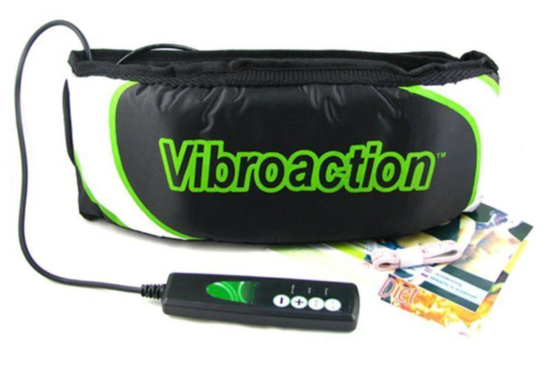 Máy massage Vibro Action giảm mỡ bụng (Trắng xanh)