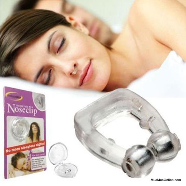Hình ảnh Dụng Cụ Chống Ngáy Ngủ Noseclip cao cấp