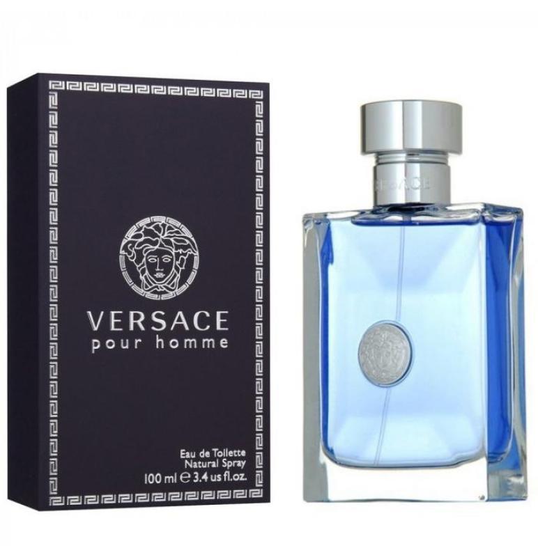 Nước hoa nam Versace Pour Homme Eau De Toilette Natural Spray, 100ml