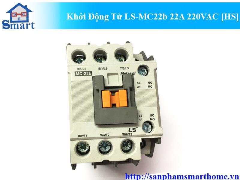 Khởi Động Từ LS-MC22b 22A 220VAC HS
