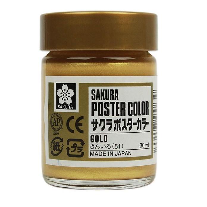 Mua Màu nhủ vàng, màu poster nhủ vàng sakura