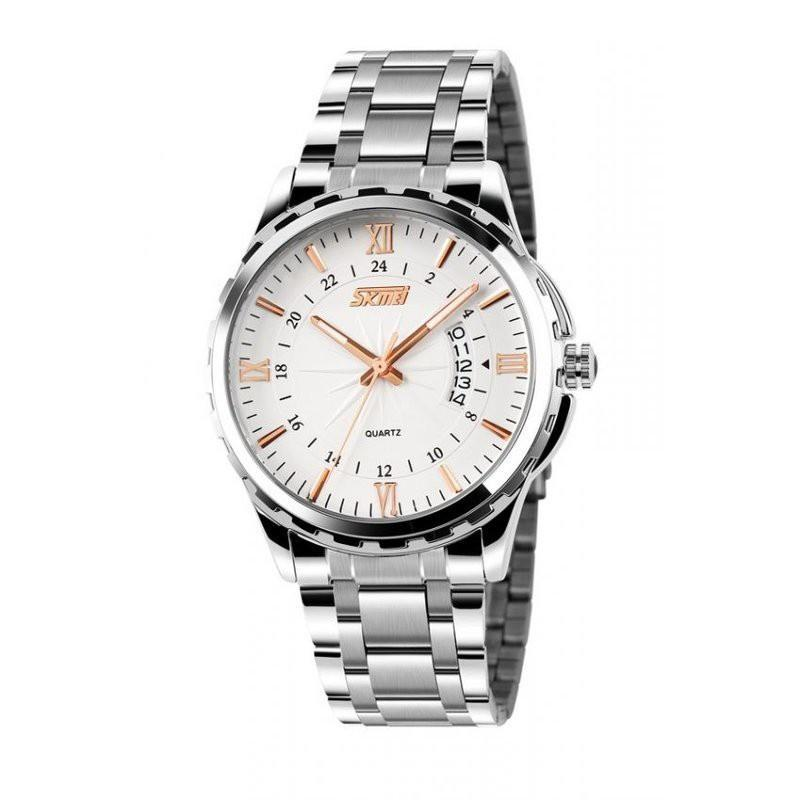 Đồng hồ nam dây kim loại Skmei 9069C