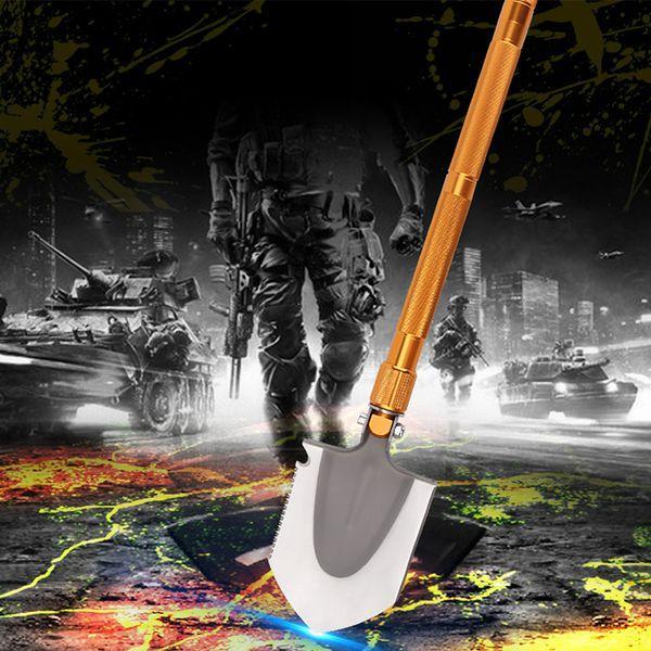 Công cụ đồ dùng du lịch dã ngoại xẻng gấp công binh đa năng trang bị sinh tồn R006 -AL