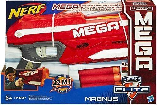 Hình ảnh Đồ chơi trẻ em vận động Nerf Elite Mega Magnus + tặng kèm 6 thanh xốp