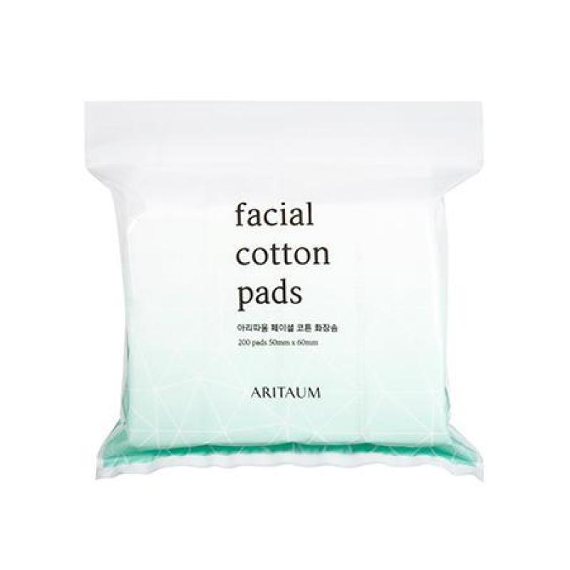 Bông tẩy trang Aritaum Facial Cotton Pads 200 miếng cao cấp