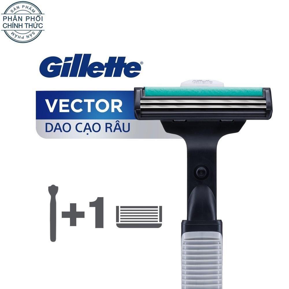 Hình ảnh Dao cạo râu Gillette Vector Plus 1Up
