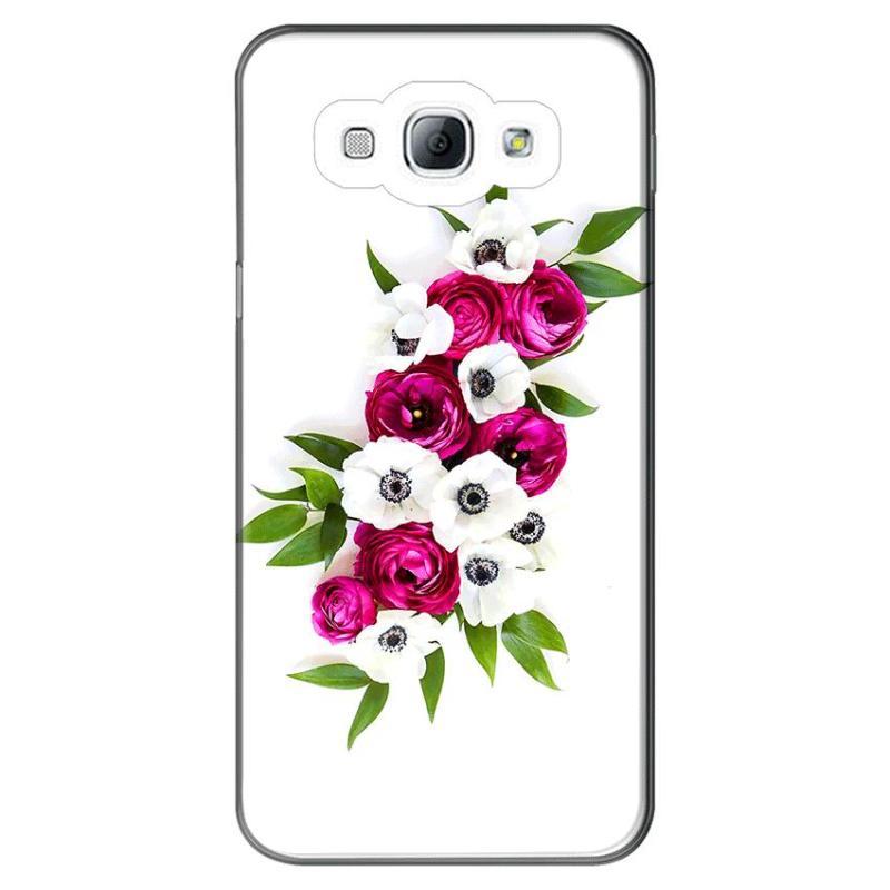 Giá Ốp lưng dẻo Nettacase cho điện thoại Samsung Galaxy A8 _Flower 09