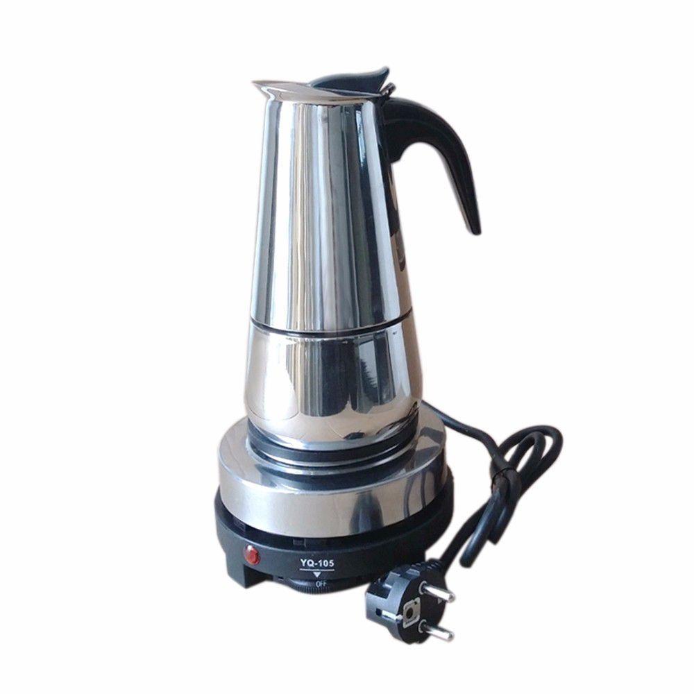 Mua Combo Ấm Pha Ca Phe Maker 200Ml Va Bếp Điện Mini Yq 105 Hà Nội