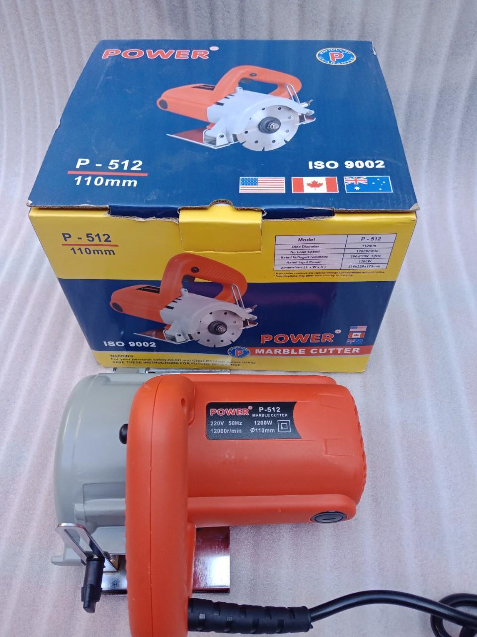 Máy cắt gạch Power P512 máy cắt gạch giá rẻ máy cắt gạch chuyên nghiệp