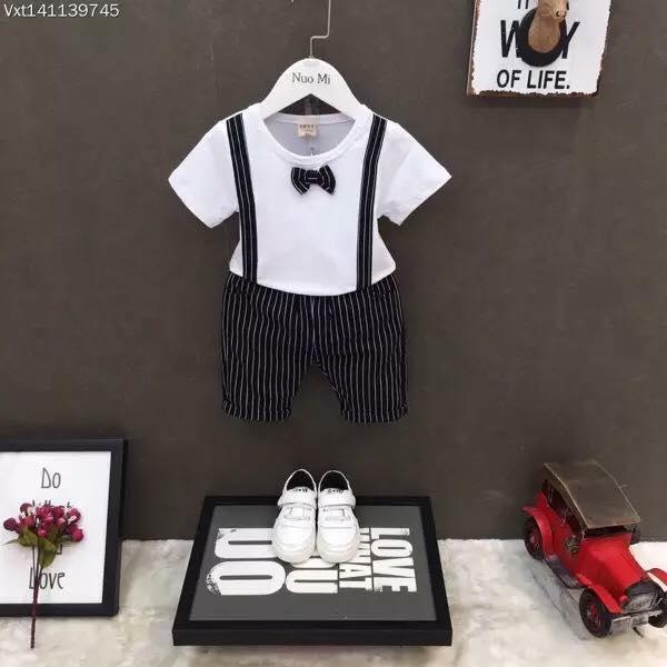 Hình ảnh Bộ quần áo công tử cho bé