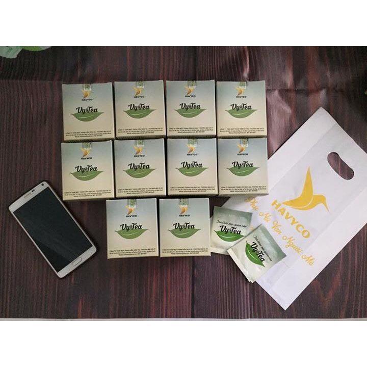 Combo 2 Hộp trà giảm cân Vy & Tea - Hà Vy