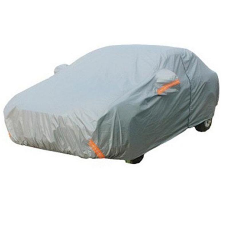 Bạt phủ xe ô tô 4 chỗ loại dày dặn KT 480x175x120cm