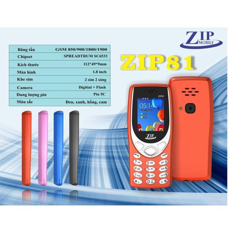 Điện Thoại ZIP81 2sim - Bảo hành 12 tháng