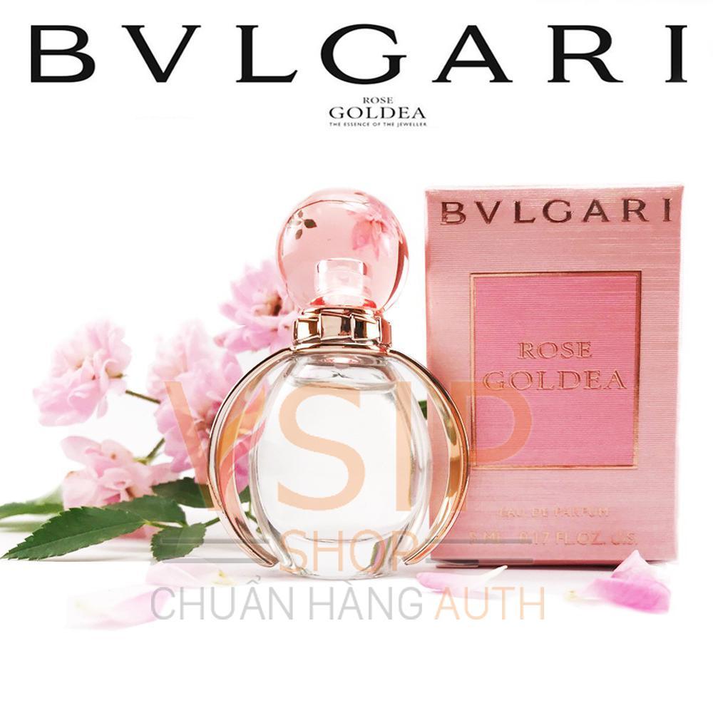 Nước Hoa Nữ Bvlgari Rose Goldea Eau De Parfum 5Ml Nguyên