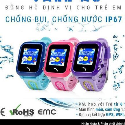 Đồng hồ định vị trẻ em VALE 9 - 3889 Hồng bán chạy