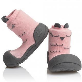 Giày tập đi Attipas CUTIE A17C-Pink dành cho bé, Hàn Quốc thumbnail