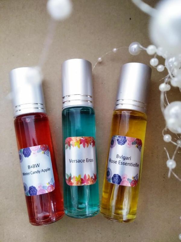 [6 chai lăn 10ml - được chọn mùi yêu thix] Tinh dầu nước hoa pháp nhập khẩu