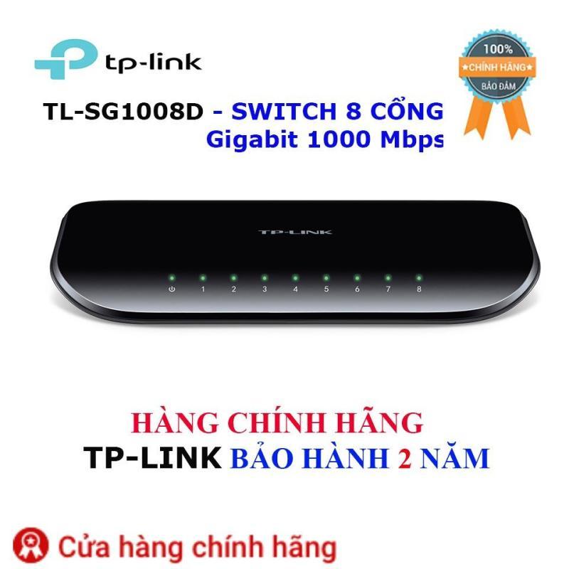 Bảng giá TL-SG1008D - Switch TP-Link để bàn 8 cổng Gigabit 1000 Mbps - Hãng bảo hành 2 năm Phong Vũ