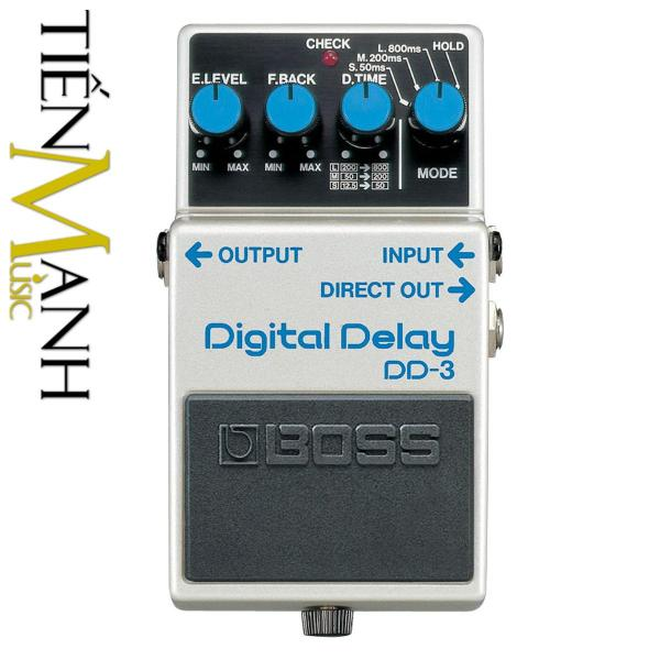 Phơ Guitar Boss Digital Delay DD-3 (Bàn đạp Fuzz Pedals Effects)