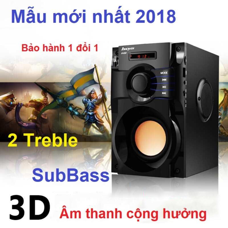Loa Kéo Karaoke Sony Đắt hơn Loa Bluetooth SBA100 1501, loa keo keo cao cap - Loa nghe nhạc Bluetooth, MP3, FM, Âm thanh 3D + Hàng nhập khẩu Tặng Remote