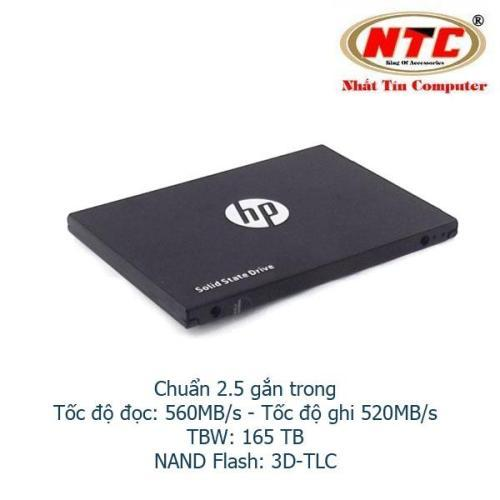Ổ Cứng SSD gắn trong HP S700 Pro 256GB SATA III 2.5in - Box Anh (đen)
