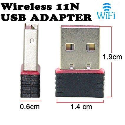 Hình ảnh USB thu sóng Wifi 802.11N siêu nhỏ cực gọn tốc độ 150Mbps