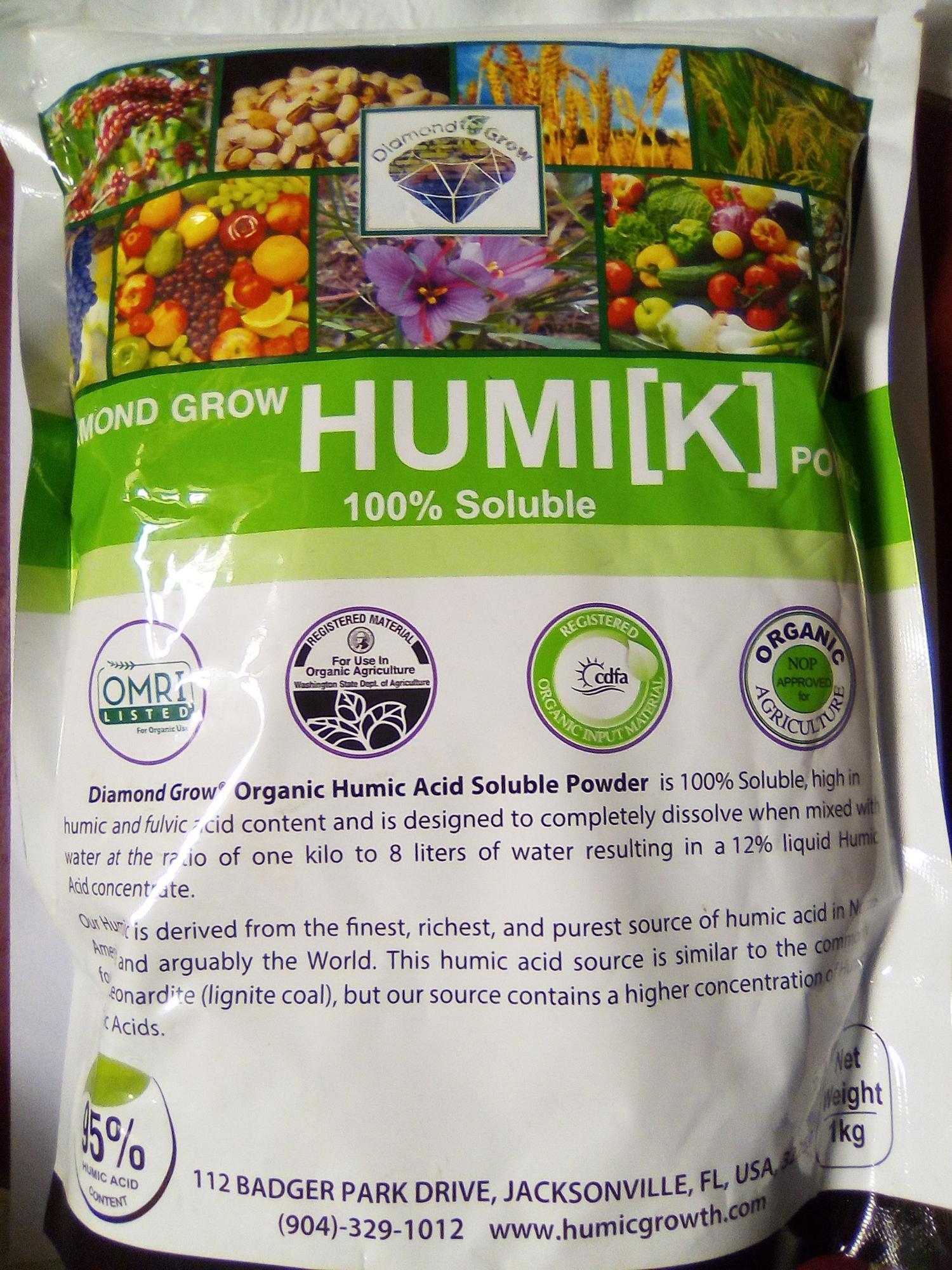 1 kg Phân bón Humik Acid Powder 95%