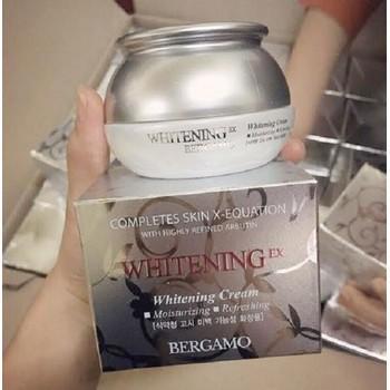 Kem dưỡng trắng trị tàn nhang Bergamo Whitening Ex Cream Hàn Quốc 50ml