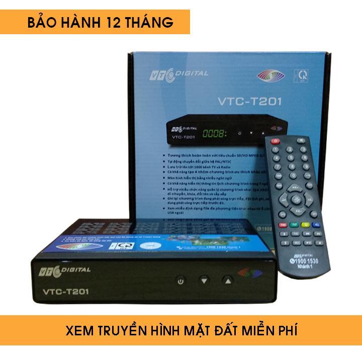 Hình ảnh Đầu thu kỹ thuật số DVB T2 VTC model T201