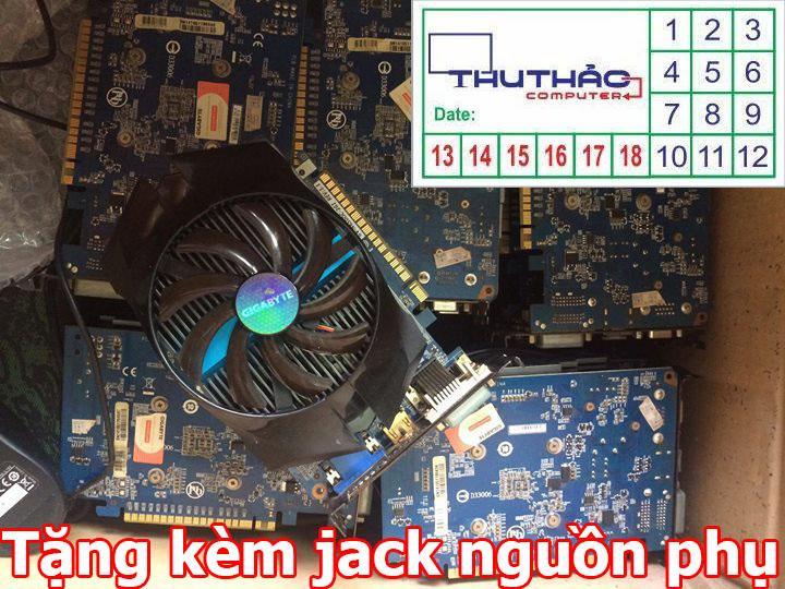 Hình ảnh CARD MÀN HÌNH GIGABYTE GTX 650 OC 1G/RAM5/128 BIT CARD VGA