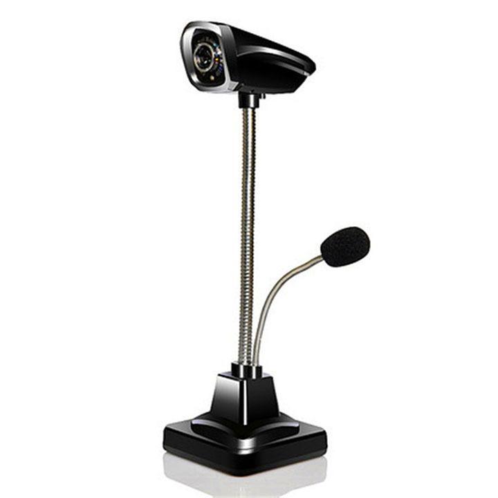 Hình ảnh Webcam M800 full HD Đen ( có mic kèm theo)