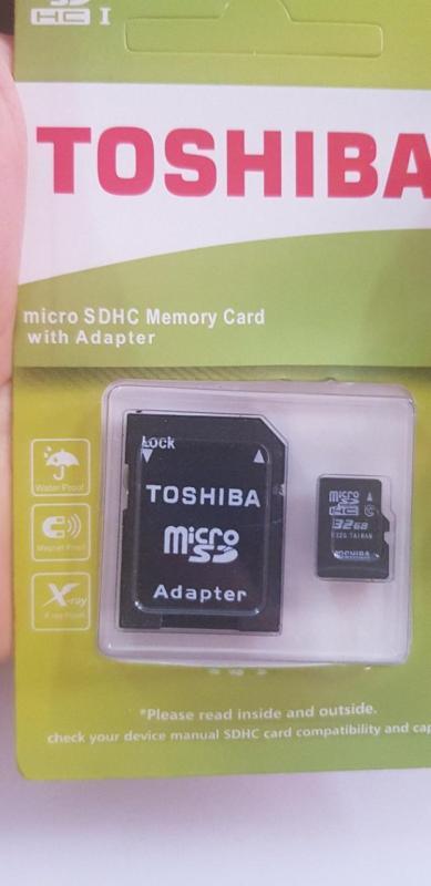 Thẻ nhớ điện thoại  Toshiba 64G micro SDHC