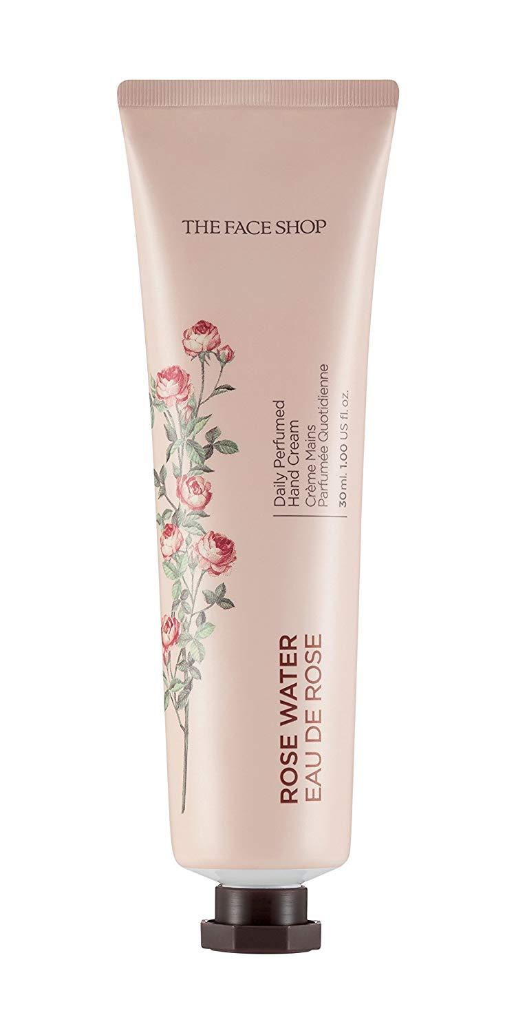 Kem Dưỡng Da Tay The Face Shop Daily Perfumed Hand Cream #Rose Water