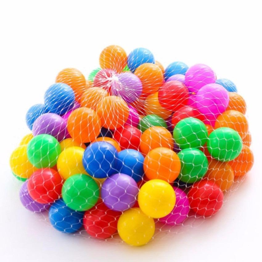 Hình ảnh Bộ 100 quả bóng nhựa nhiều màu sắc cho bé vui chơi
